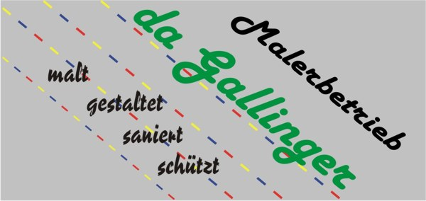 Sponsor Malereibetrieb der Gallinger