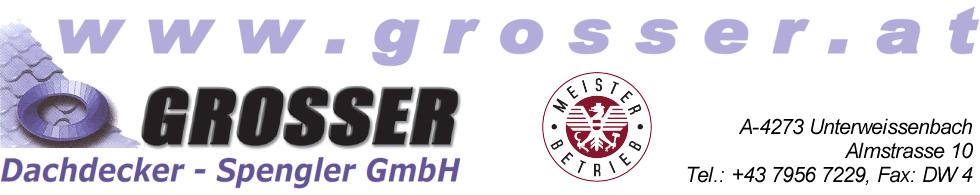 Sponsor Grosser Gottfried